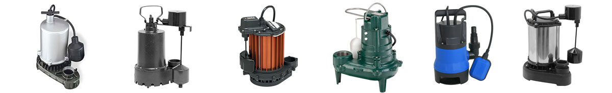sump pump costs by material types