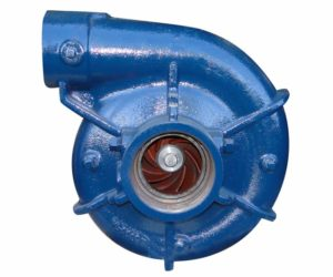 sump pump volute case